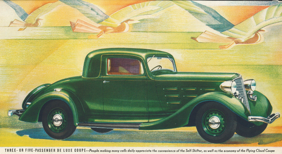 1934 REO Flying Cloud brochure 6 Tate Collection RESIZED