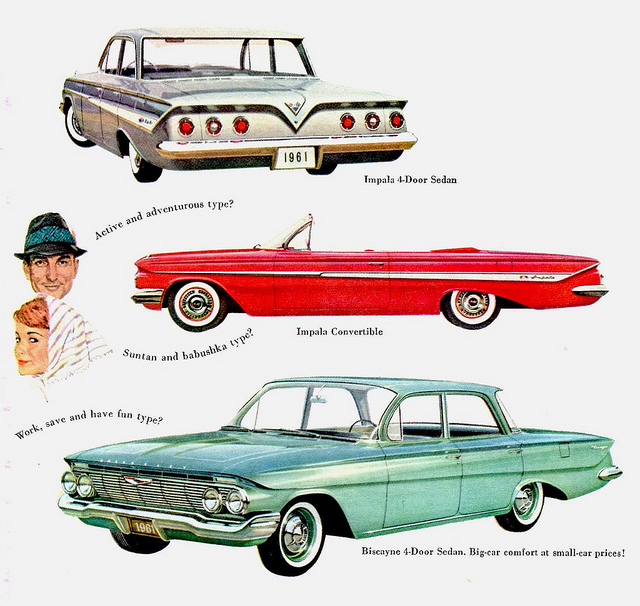 1961 Chevrolets Tate Collection 2