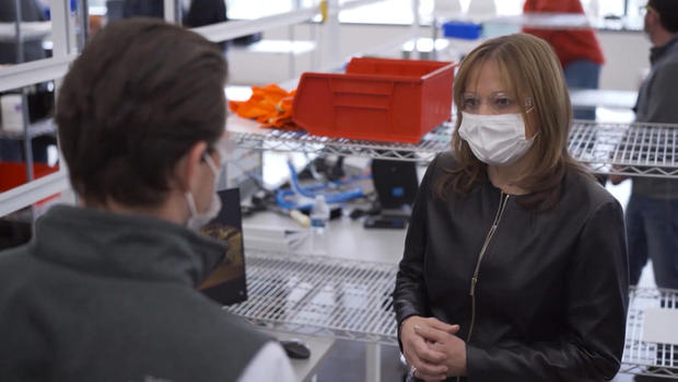 Mary Barra GM CBS News 60 Minutes April 2020