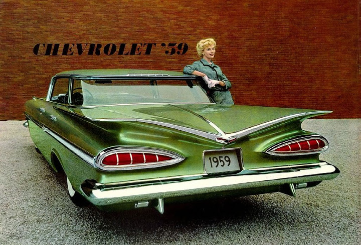 1959 Chevrolet ad Tate Collection