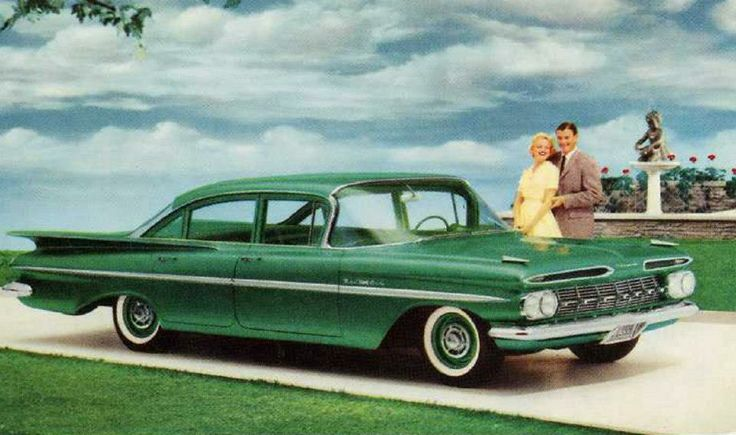 1959 Chevrolet ad illustration 1 Tate Collection