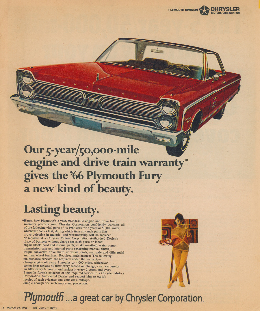 1966 Plymouth ad 8 Tate Collection RESIZED