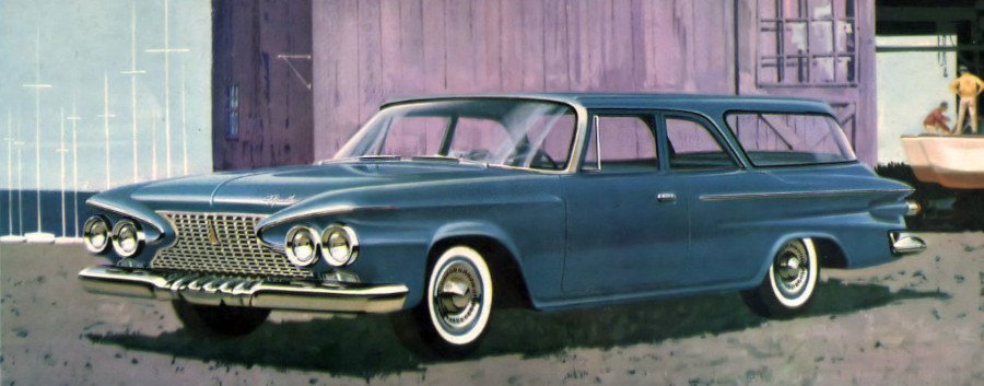 1961 Plymouth Deluxe station wagon Robert Tate Collection RESIZED 5