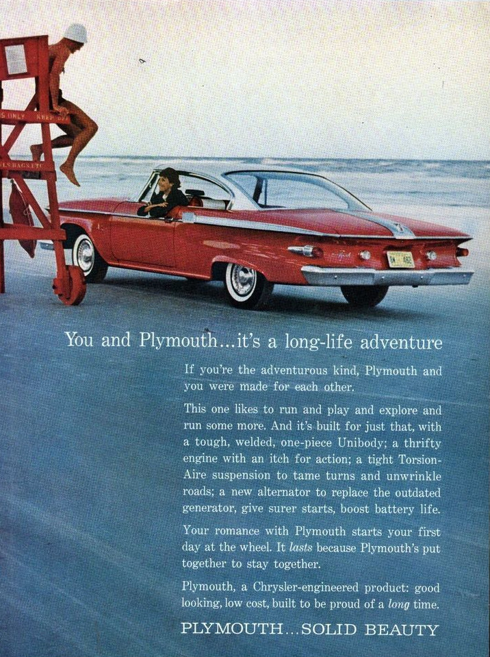 1961 Plymouth ad Chrysler Archives 3