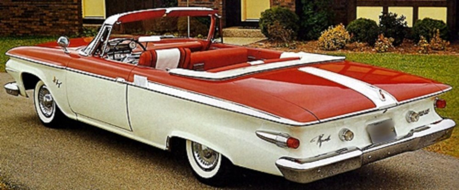 1961 Plymouth convertible Chrysler Archives RESIZED 2