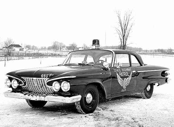 1961 Plymouth highway patrol vehicle 4