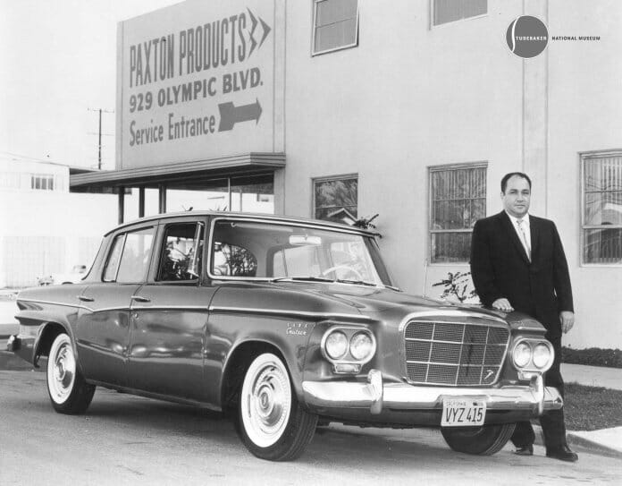 A 1962 Studebaker sedan with Andy Granatelli Studebaker National Museum 9