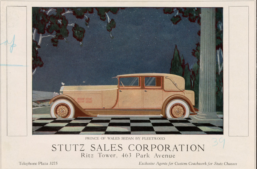 Stutz advertisement 1920s NAHC 7 RESIZED