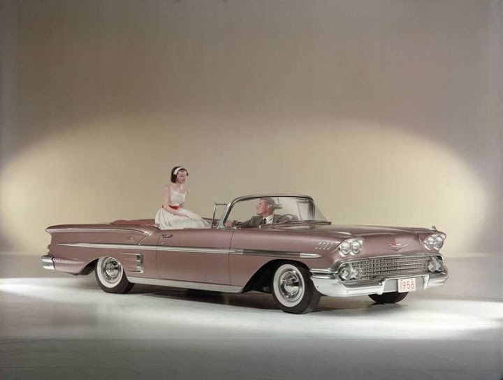 1958 Chevy Impala convertible GM Archives 2