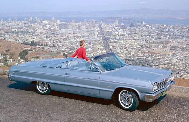 1964 Chevy Impala convertible GM Archives 5