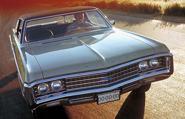 1969 Chevy Impala GM Archives 6