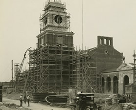 Early construction of the Henry Ford Museum 1920s The Henry Ford 1