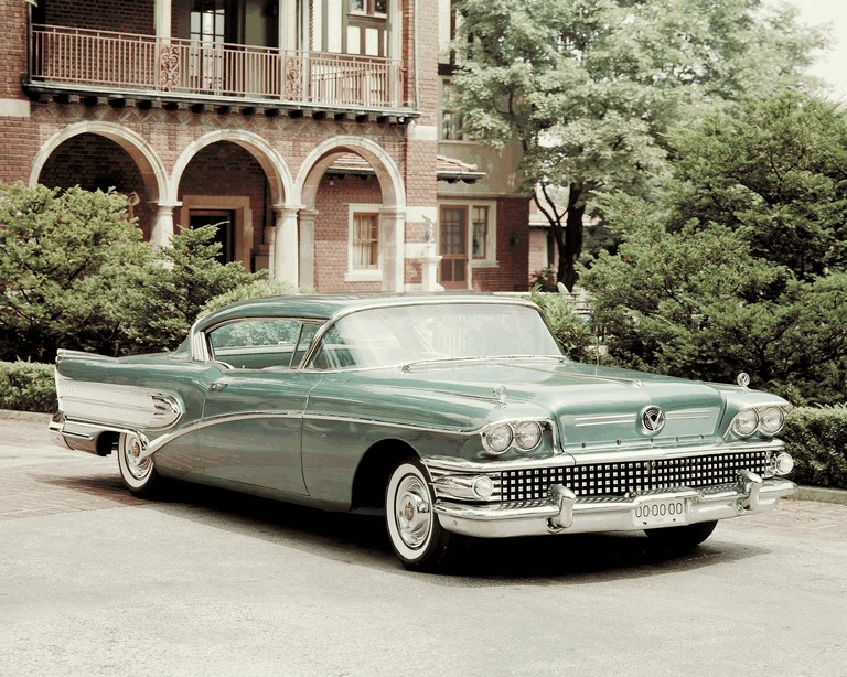 1958 Buick Super Riviera coupe GM Media Archives