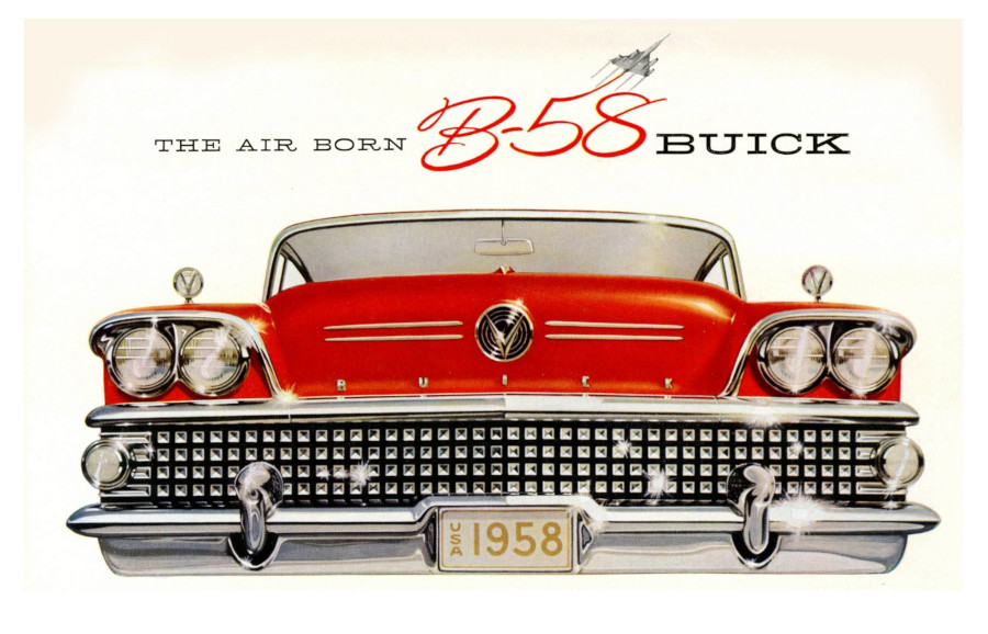 1958 Buick advertising image GM Media Archives RESIZED