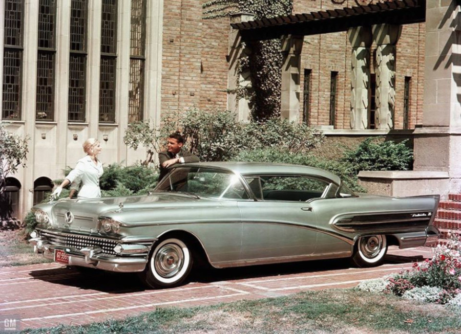 1958 Buick two door model GM Media Archives RESIZED