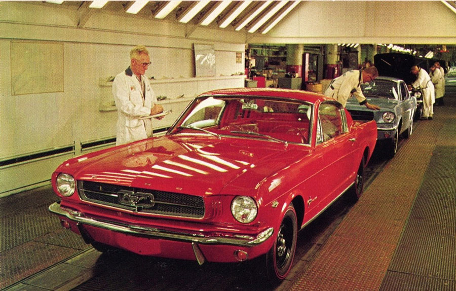 1965 Ford Mustang Assembly Line 5
