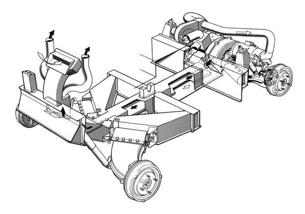 Comuta sheet metal chassis design