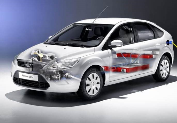 Ford Focus BEV electric vehicle first shown at the 2009 Frankfurt Motor Show