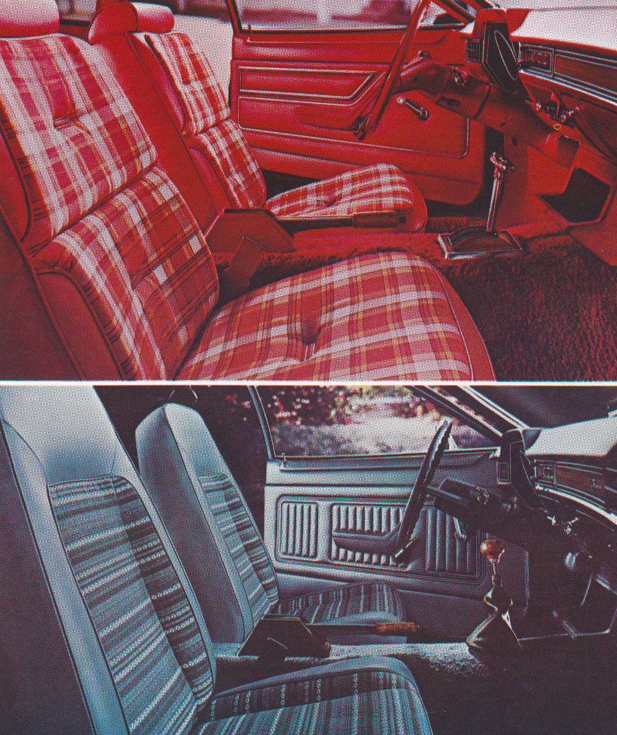 1977 Mercury Bobcat interior photos brochure Tate Collection 3 RESIZED