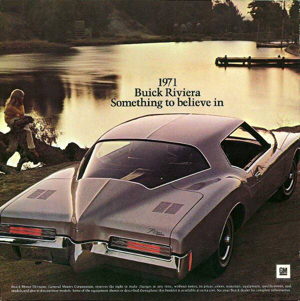 1971 Buick Riviera advertisement GM Media Archives 6