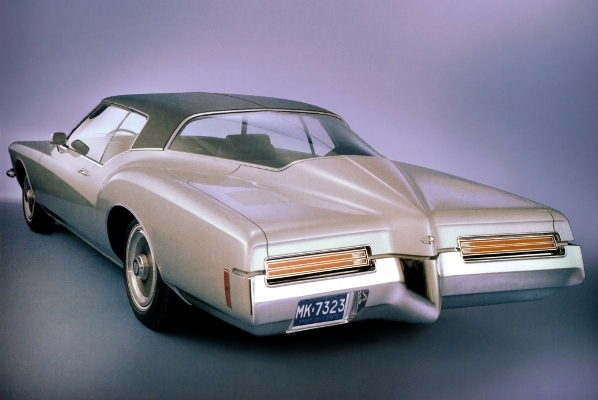 1971 Buick Riviera rear view GM Media Archives 2