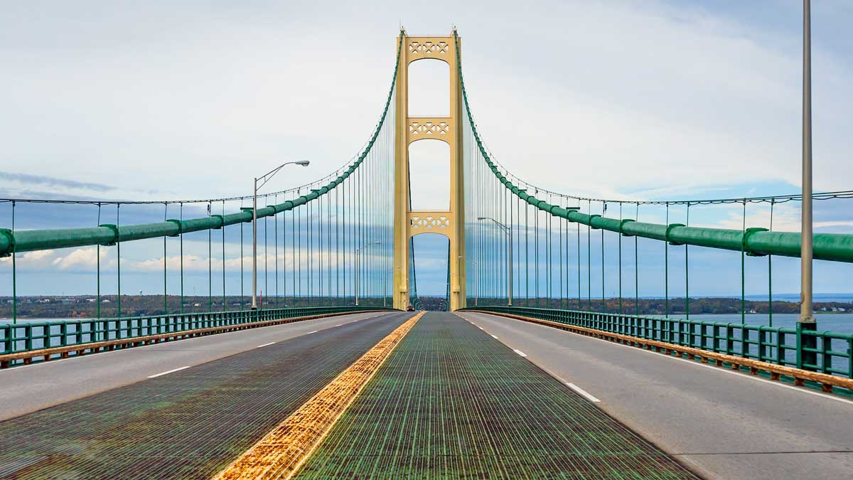 Mackinac Bridge deck Daily Detroit 6