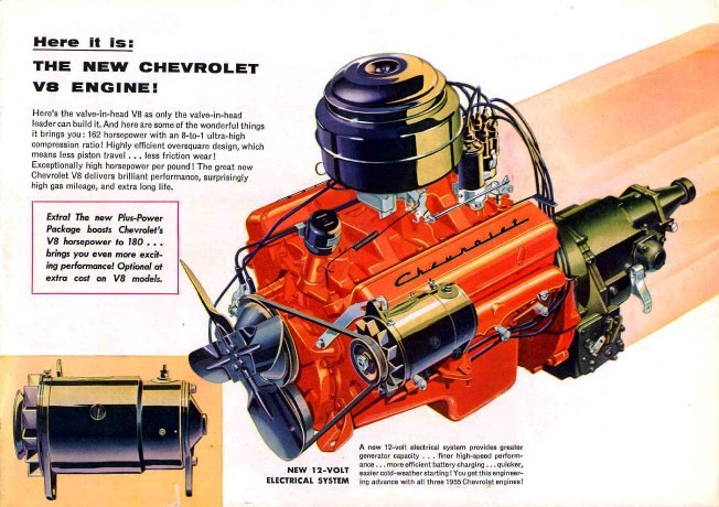 1955 GM sales brochure image General Motors 2