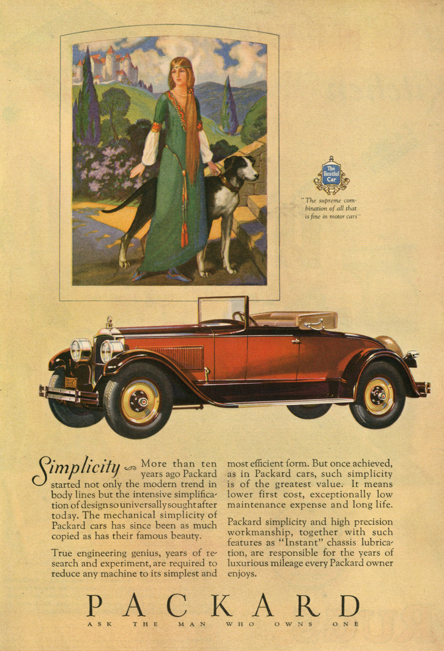 RESIZED Packard Advertising 1920s