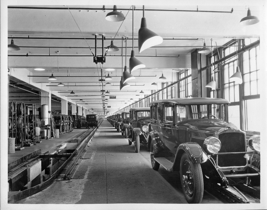 RESIZE Packard Factory 1920s