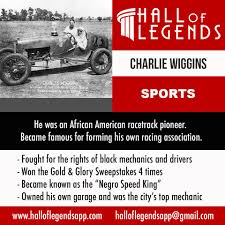 Hall of Legends Charlie Wiggins