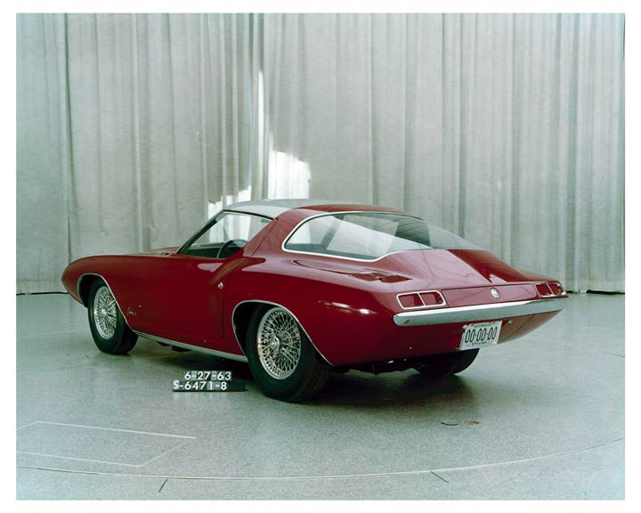 1963 Ford Cougar II concept 4
