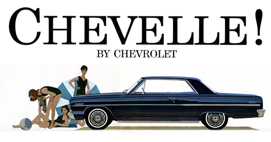 1964 Chevrolet Chevelle advertisement GM Media Archives RESIZED