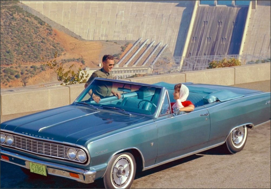 1964 Chevrolet Chevelle convertible GM Media Archives RESIZED
