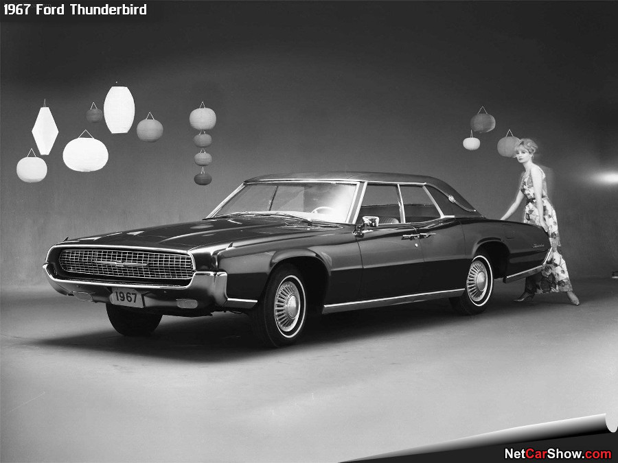 1967 Ford Thunderbird designed by Thompson Ford Motor Company RESIZED 6