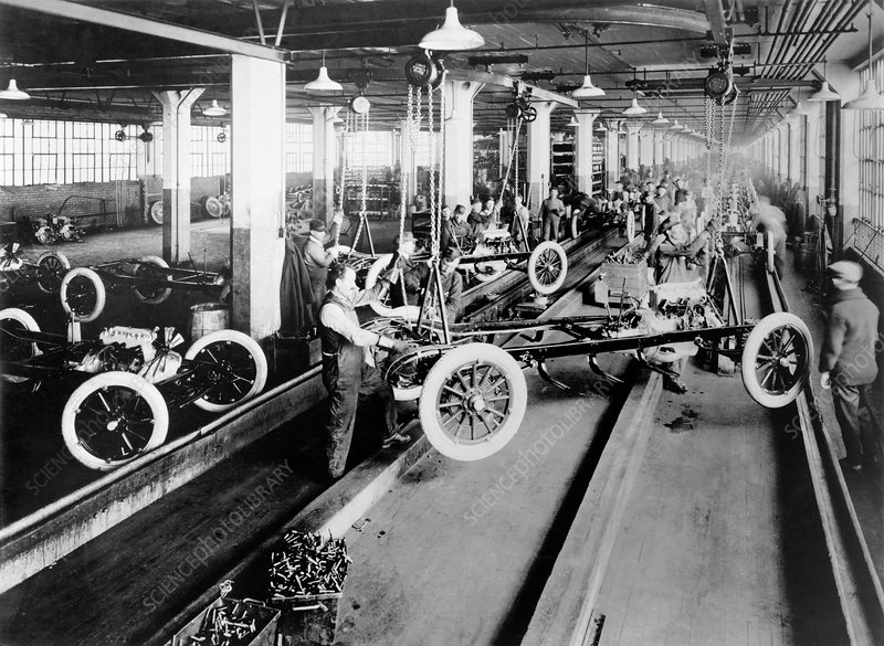 The Dodge Brothers factory 1915 Chrysler Archives 2