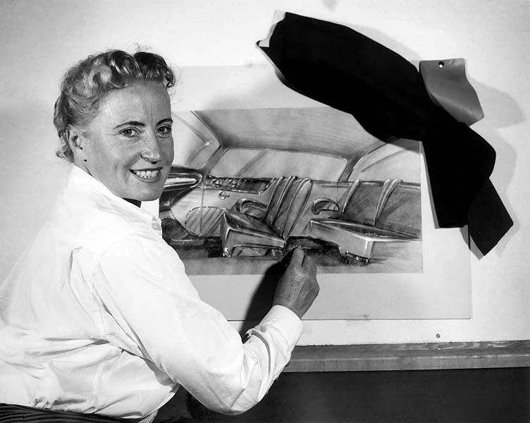 Helen Rother one of the first female auto designers at Nash 4