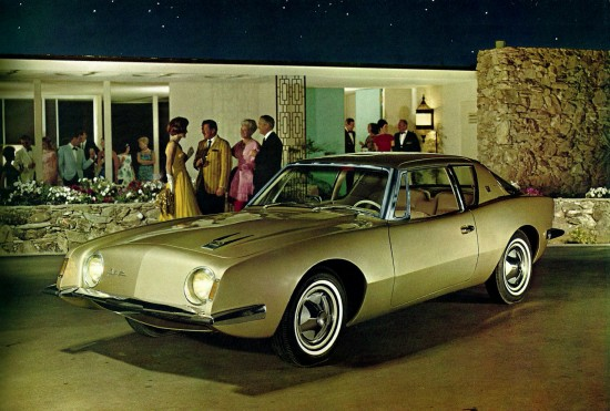 Studebaker Avanti in gold advertising image Collector Car Market 4