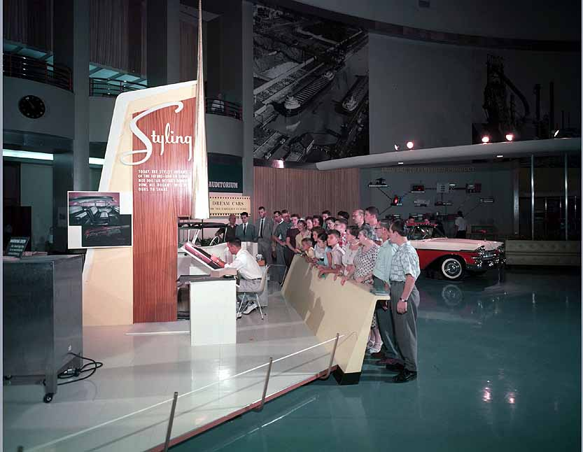 1959 Styling Exhibit at Rotunda