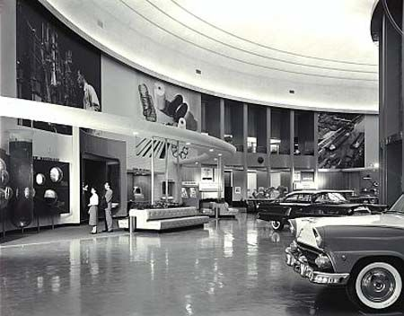 Ford Rotunda display
