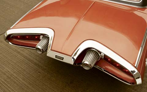 1963 Chrysler Turbine Car tail lights Motor Trend 6