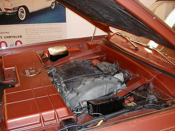 Chrysler Turbine car with hood open Chrysler Archives 5