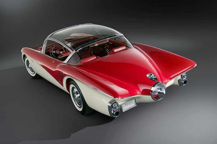 1956 Motorama Buick Centurion concept car by Chuck Jordan GM Archives 3