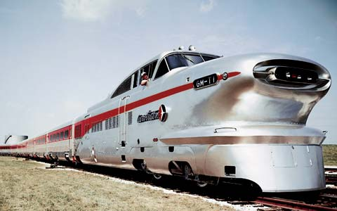 Chuck Jordans 1950s Aero Train design GM Archives 2