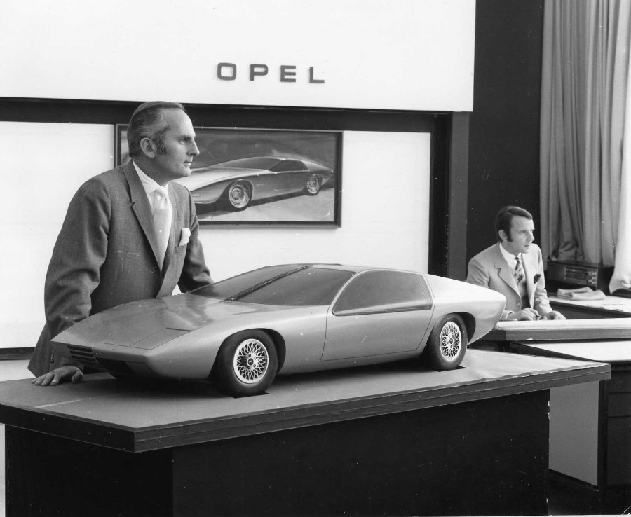 RESIZED Chuck Jordan working at Opel Germany GM Archives 6