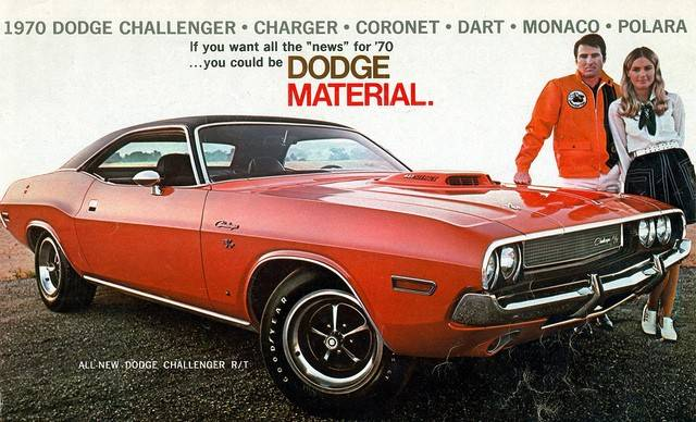 Ad for the 1970 Dodge Challenger Chrysler Archives 3