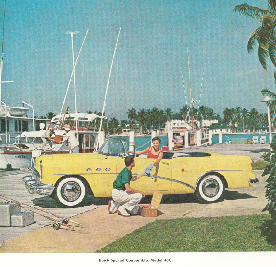 Yellow Buick Special