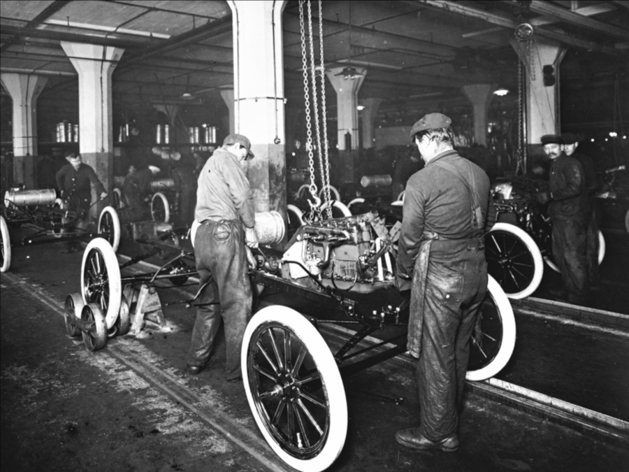 Ford Highland Park assembly line Ford Motor Company Archives RESIZED 1