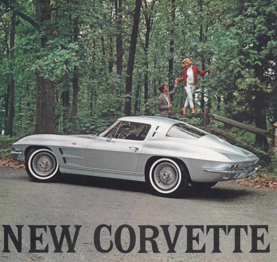 1963 Corvette brochure cover Tate Collection RESIZED 1