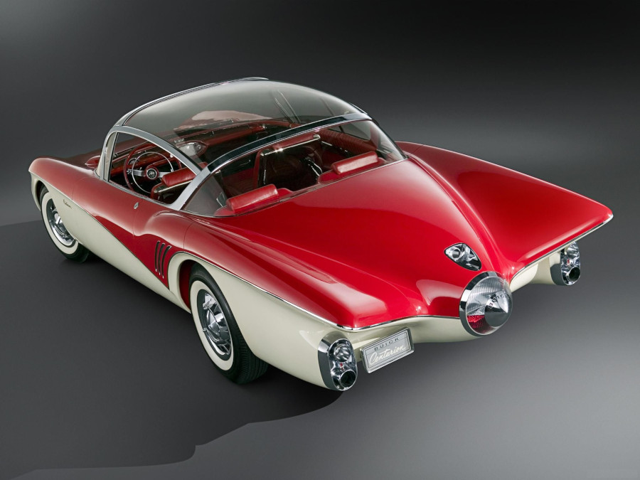 1956 Buick Centurion show car rear view GM Archives RESIZED 6