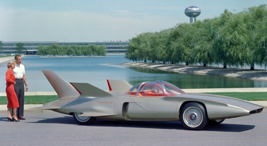 1958 Firebird III concept at the GM Tech Center GM Archives RESIZED 7